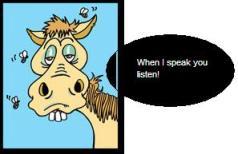 when i speak you listen